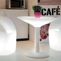 Podświetlany LED stolik barowy ANTIQUA, MADE IN ITALY