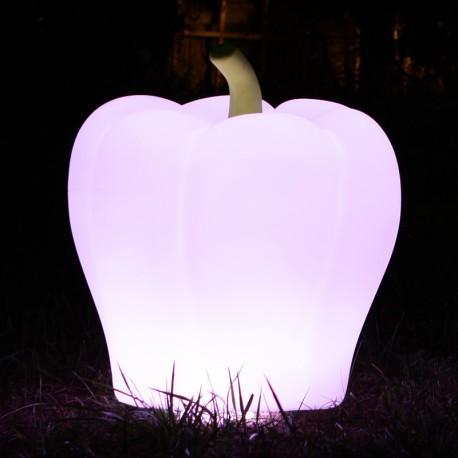 Dekoracyjna papryka z oświetleniem LED