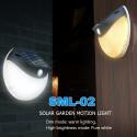 Lampa solarna LED 200 lumenów z czujnikiem ruchu