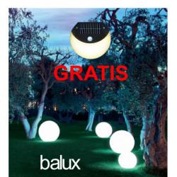 Zestaw trzech lamp ogrodowych 30, 40 i 50 cm o mocy 5, 7 i 9 W + GRATIS - lampka solarna SML-02