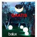 Zestaw trzech lamp ogrodowych 30, 50 i 70 cm o mocy 5, 9 i 12 W + GRATIS - lampka solarna SML-02