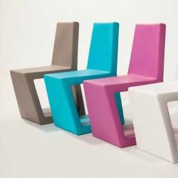 Krzesło do domu i ogrodu wodoodporne, włoski design